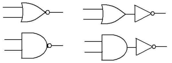 digital implementation of boolean logic